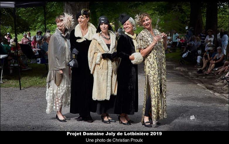 Projet Domaine Joly de Lotbinière 2019
