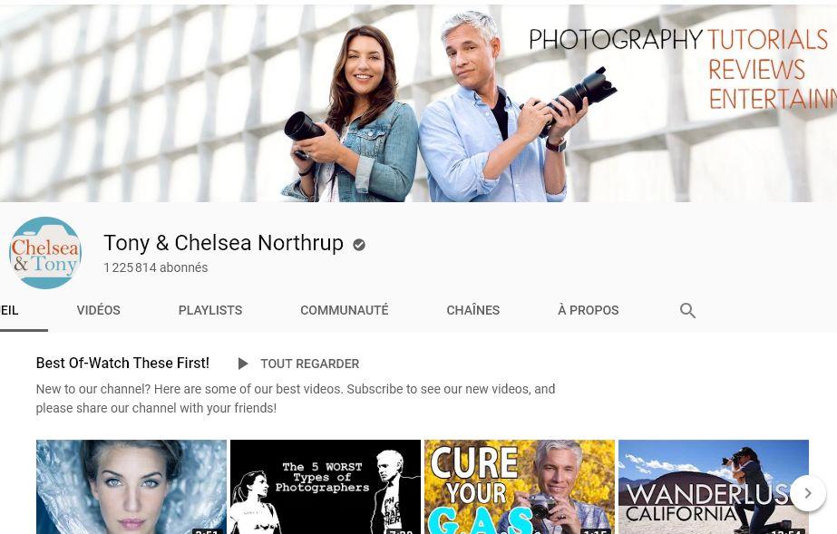Des chaines YouTube pour apprendre la photo